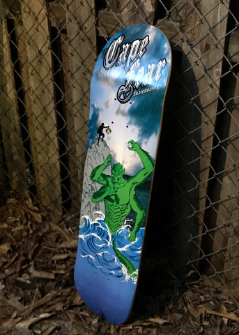 Cape Fear Water Monster Skateboard Deck