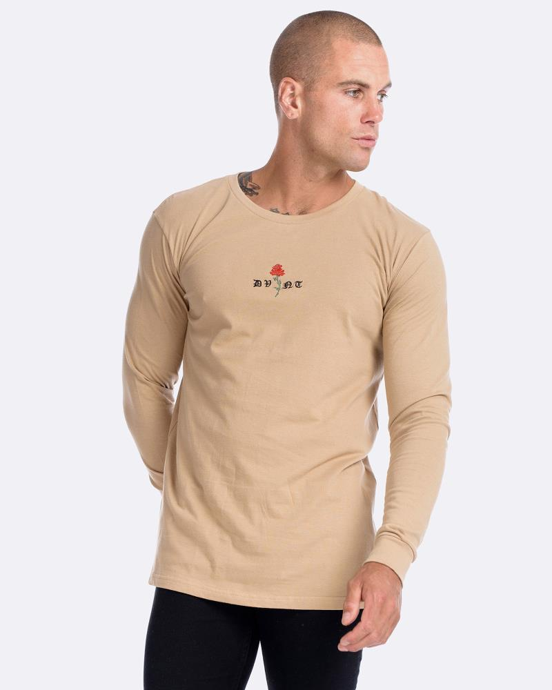 Barbed Rose Long Sleeve - Camel