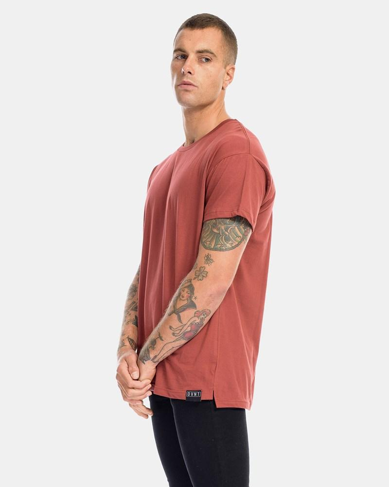 Over Size Tee - Rust