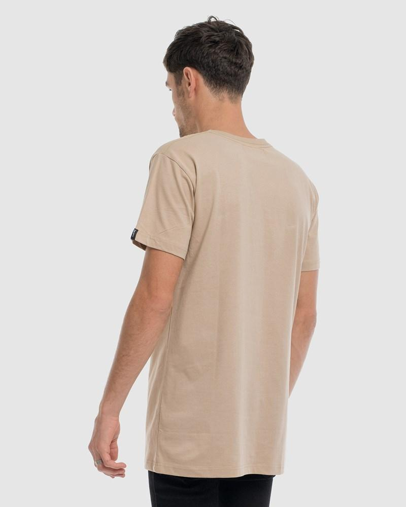 Anchor Embroidery Tee - Camel
