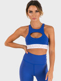 Candice Sports Bra - Olympic Blue