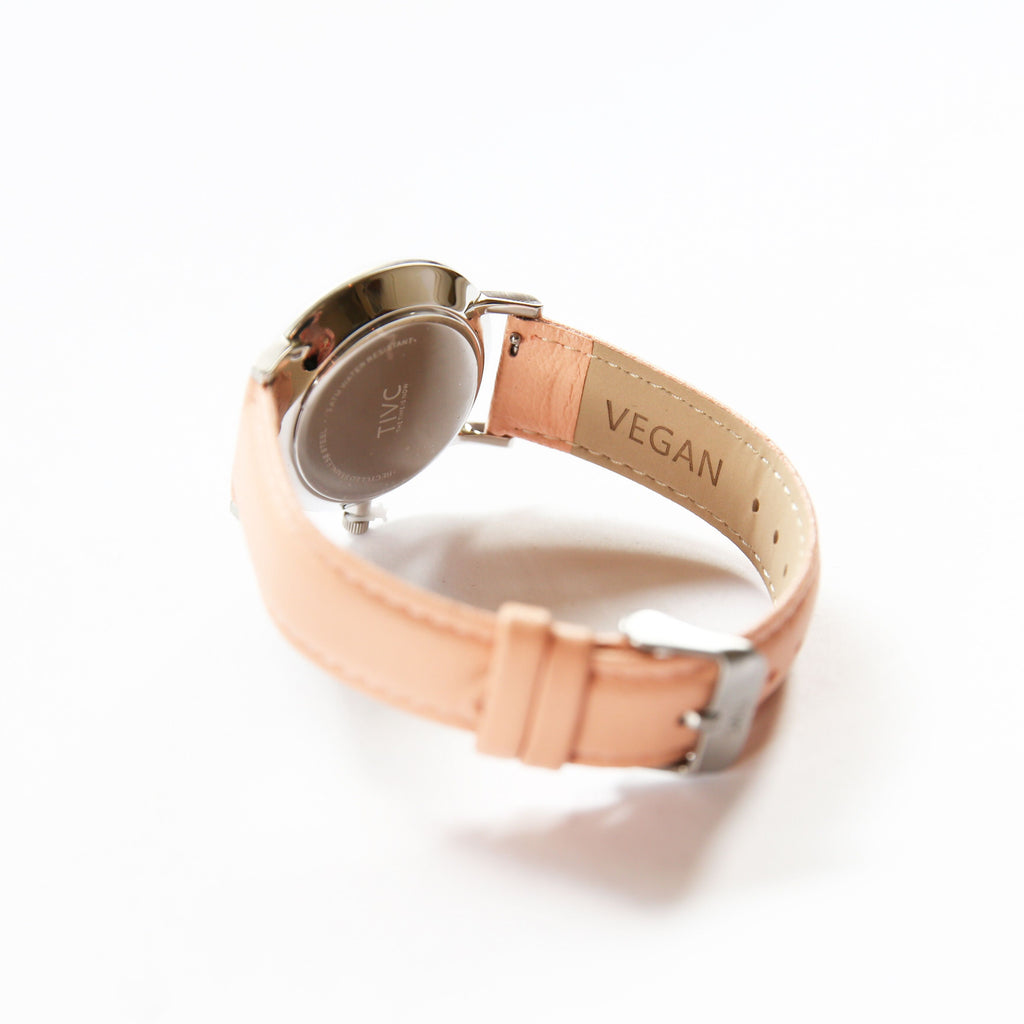 36mm Silver | Pink Band