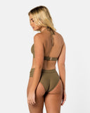 Ios - Green Apple Spice Halter Bikini