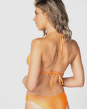 Bora Bora - Orange Halter Top