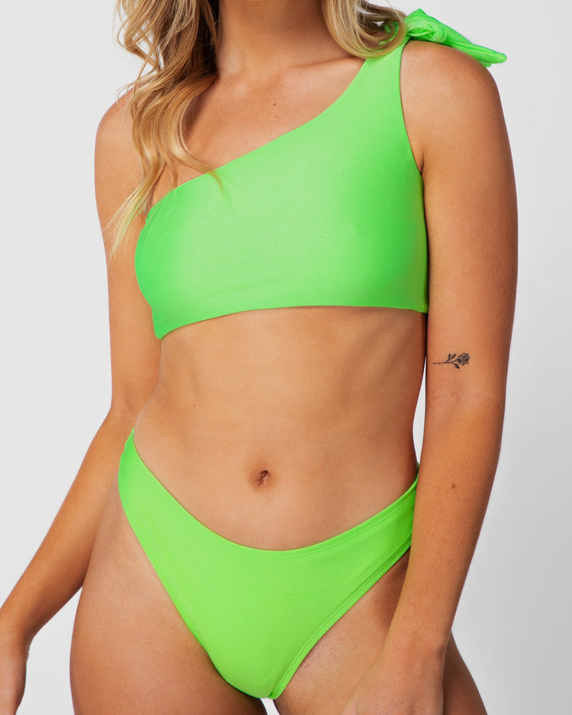 Colombia - Lime Green Cheeky Bottoms
