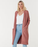 Toronto Long Cardigan - Spice