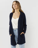 Brooklyn Short Cardigan - Navy