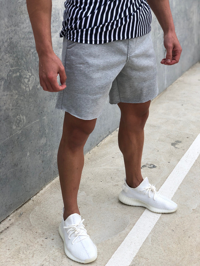 Signature Track Shorts - Grey