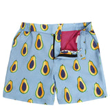 Men's Tailored Swim Shorts - Papaya