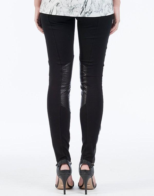 SASHA LEATHER PANT