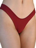 CORA SWIM BOTTOMS vermillion red