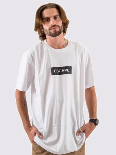 Box Logo Tee (White)