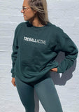 Joey Oversized Jumper - Dark Green