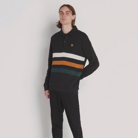 Archive Cut and Sew Panel Sweatshirt