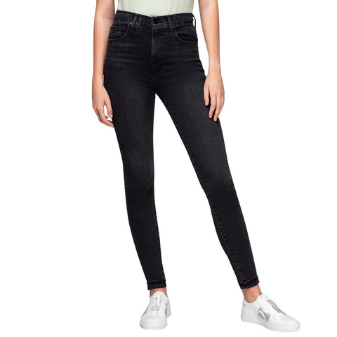 LEVIS MILE HIGH SUPER SKINNY JEANS - GREY