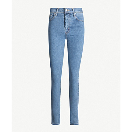 LEVIS MILE HIGH SUPER SKINNY JEANS - LIGHT WASH