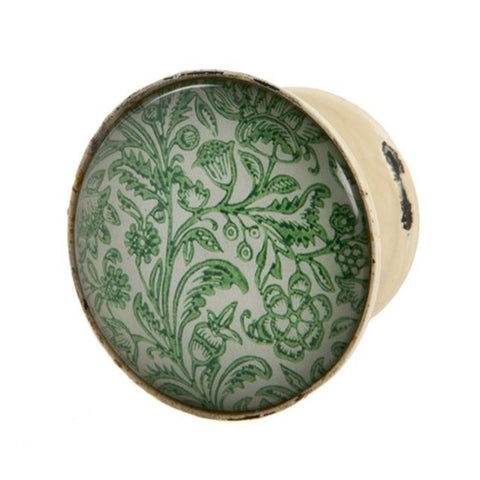 London Ornaments Glass Cupboard Knob - Green