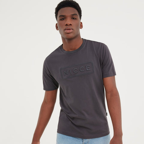 NICCE MENS TALIN T-SHIRT | COAL