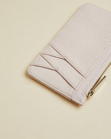 TED BAKER Leather Zip-Up Cardholder