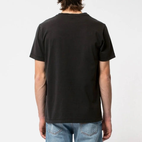 Nudie Roy One Pocket Tee Black
