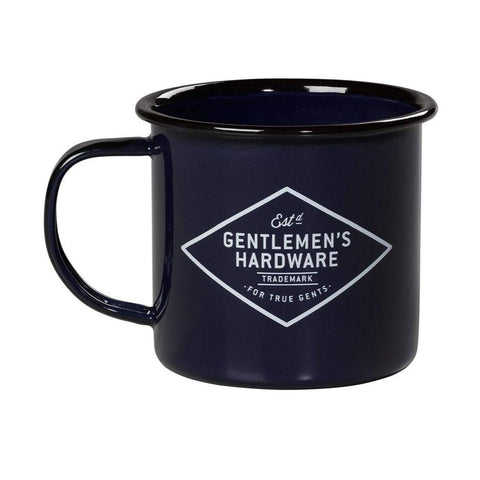 Gentlemen's Hardware Enamel Travel Mug - Blue