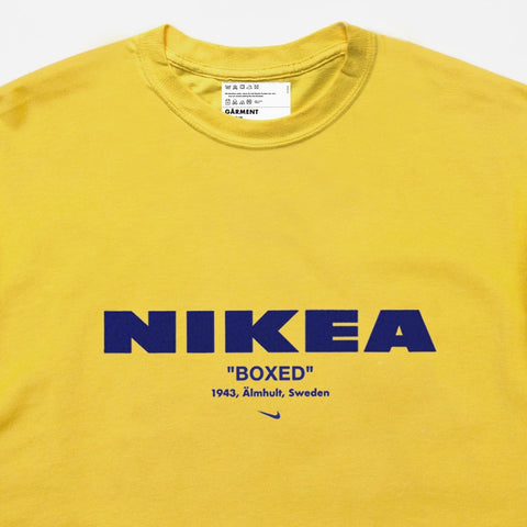 NIKEA TEE | YELLOW