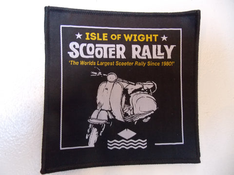 Isle of Wight Scooter Rally Patch