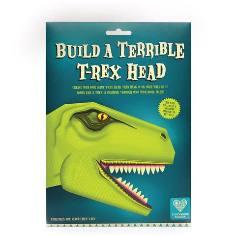 Clockwork Soldier Build A Terrible T-Rex Head Activity Set