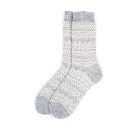 BARBOUR ALPINE FAIRISLE SOCKS