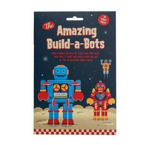 Clockwork Soldier Amazing Build-A-Bots Activity Set