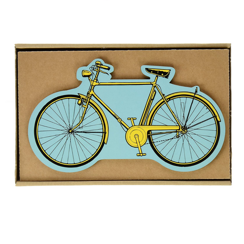 Werkhaus Recycled Wood Pen Holder - Bicycle