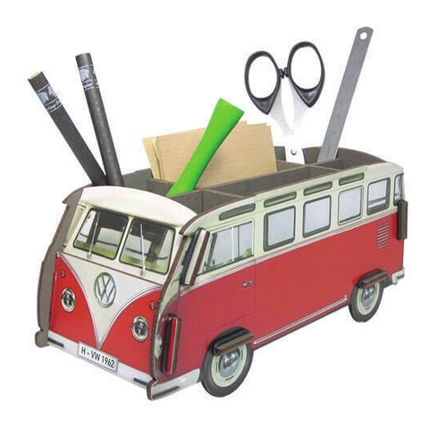 Werkhaus Recycled Wood Desk Organiser - Large T1 Camper