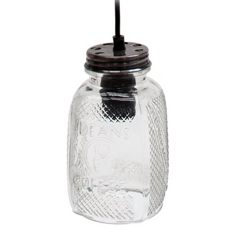 London Ornaments Coffee Jar Ceiling Light