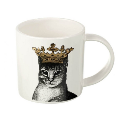 Parlane Crowned Cat Mug