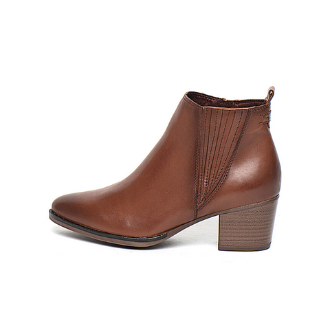 TAMARIS Chelsea Boot Brandy