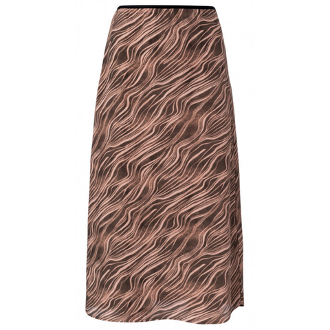 YAYA A-line skirt with print
