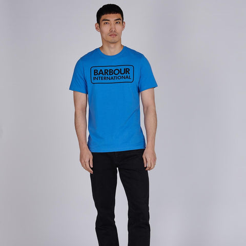 B.INTL ESSENTIAL LARGE LOGO T-SHIRT PURE BLUE