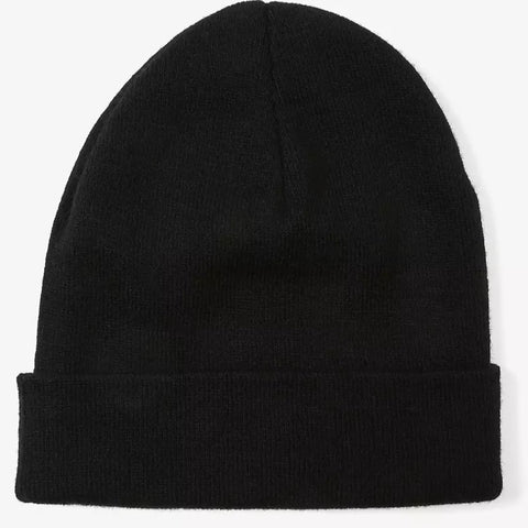 LEVI'S® LOGO EMBROIDERED SLOUCHY BEANIE BLACK