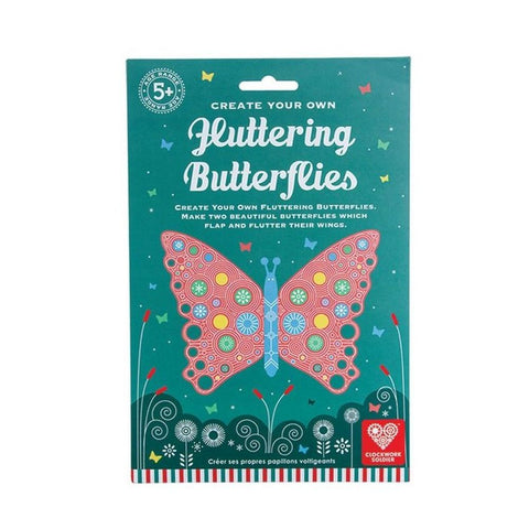 Clockwork Soldier Fluttering Butterflies Activity Set
