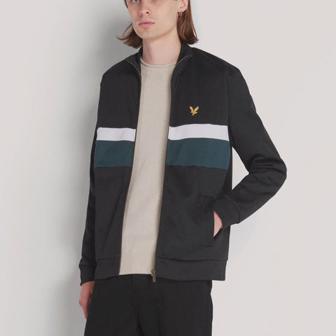 Lyle & Scott Archive Colourblock Tricot Track Top
