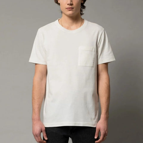 Roy One Pocket Tee Offwhite