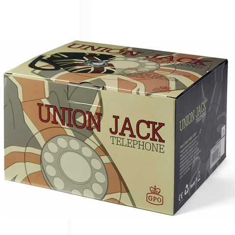 GPO Union Jack Push-Button Telephone