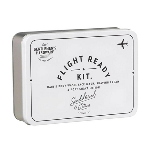Gentlemen's Hardware Flight Ready Kit in Tin