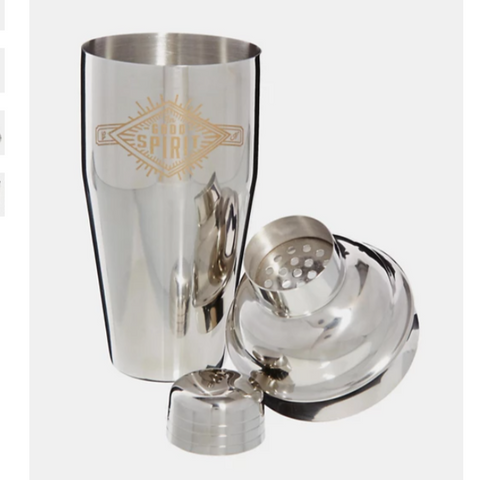 Gentlemen's Hardware Stainless Steel Cocktail Shaker