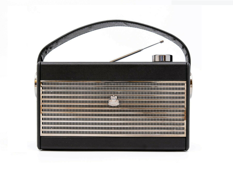 GPO Darcy Portable Radio - Black & Chrome