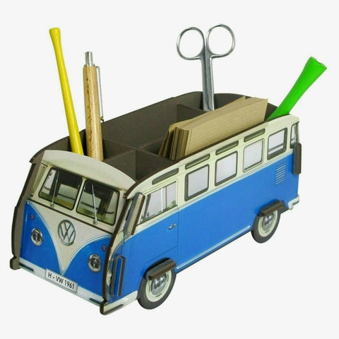Werkhaus Recycled Wood Desk Organiser - T1 Camper