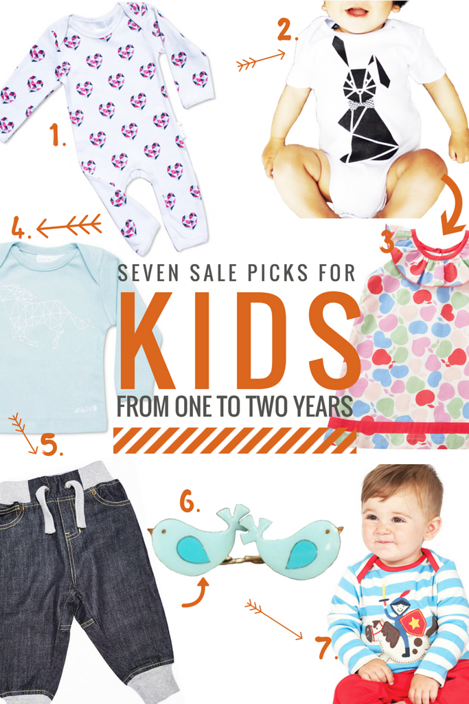 Our sale picks for kids from one to two years old