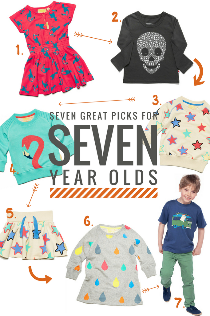 Seven great picks for seven year olds