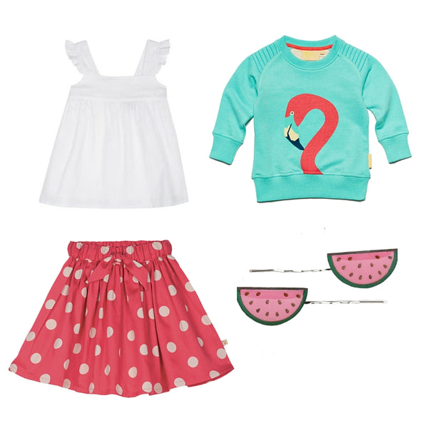 #flamingostyle at Small to TALL with Boys&Girls, Frugi and Bok Bok B'Gerk