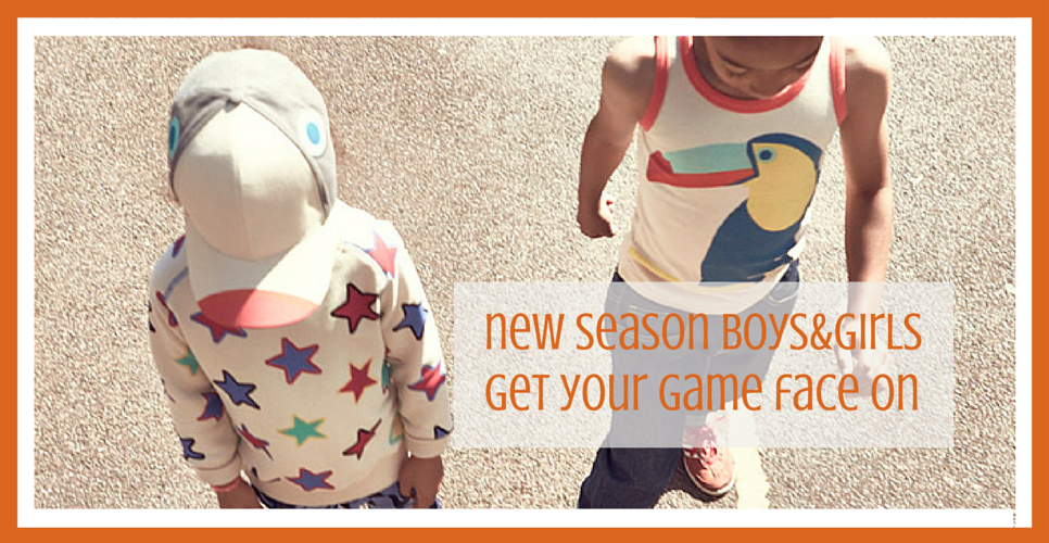 The new Boys&Girls collection has arrived at Small to TALL